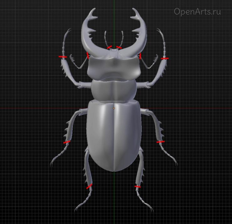 Избегайте тонких и длинных элементов в модели при 3D печати из Blender