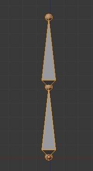Деление костей в Blender 2.5