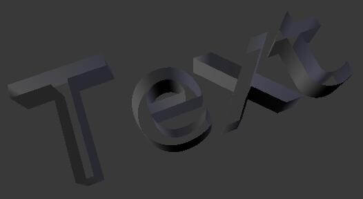 Работа с формой текста в Blender 2.5 (Both Unchecked)