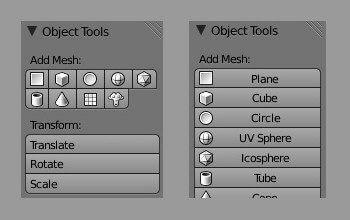 Модифицирование панелей в Blender при помощи Python