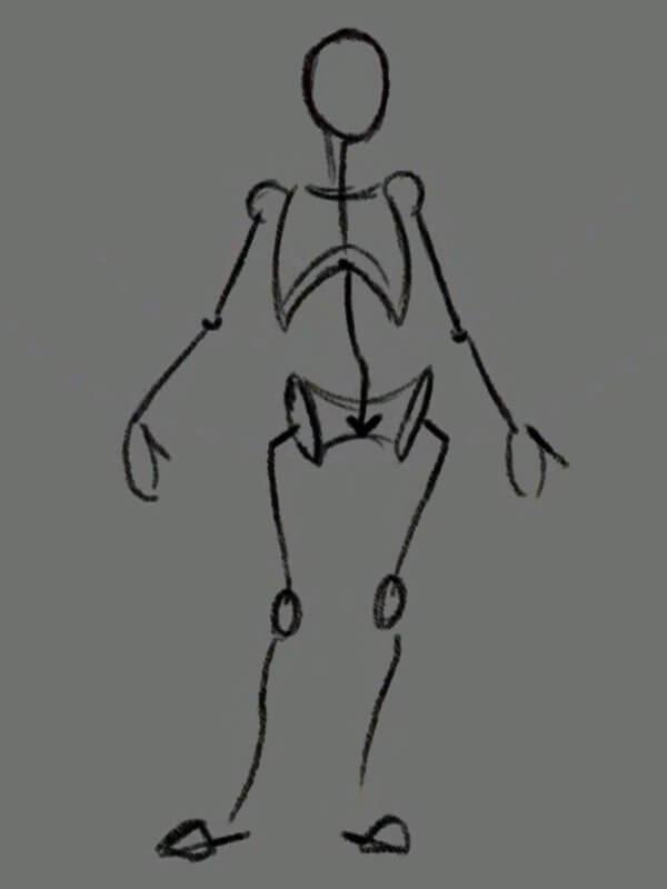 Модель человека готова