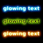 Делаем в Gimp светящийся текст