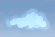 Нарисуйте еще одно облако внутри предыдущего