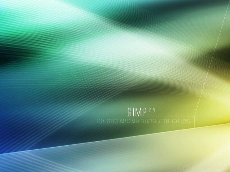 Еще один вариант комбинации цветов в Gimp