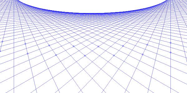 Создание перспективной сетки из звезды в Inkscape