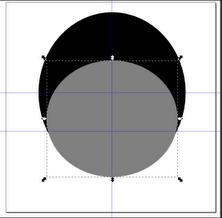 Рисование эллипсов в Inkscape
