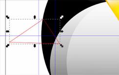Рисование крыльев в Inkscape