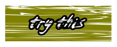 Изменение цвета текста в Inkscape
