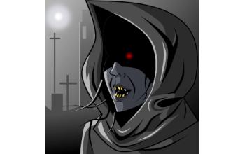 Аватар в Inkscape - темный адепт