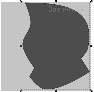 Дублирование объекта в Inkscape