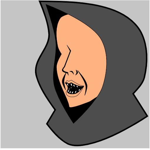Рисование зубов в Inkscape