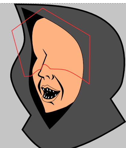 Доводка формы тени в Inkscape