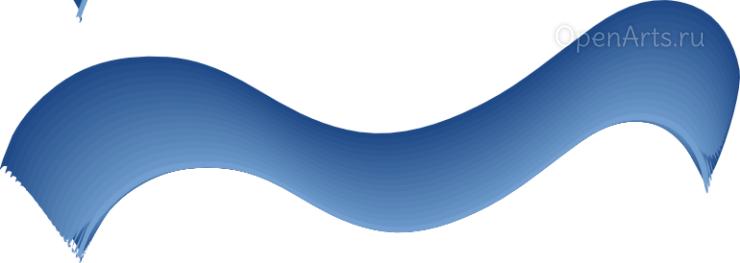 Неравномерный градиент в Inkscape
