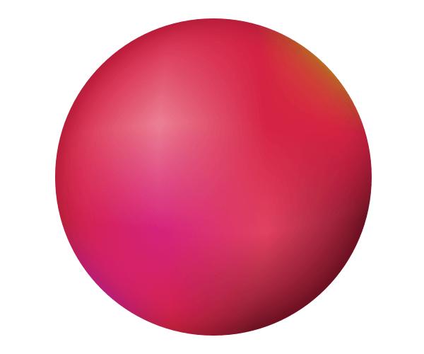 Результат применения градиентной сетки в Inkscape