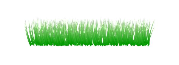 Создание травы при помощи узора из клонов в Inkscape