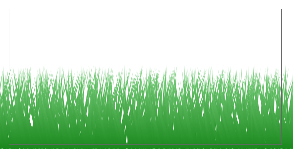 Созданная в Inkscape поляна травы