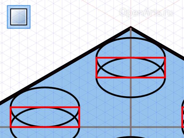 Рисование прямоугольников в Inkscape