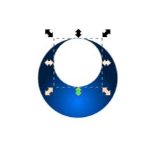 Создание дубликата круга в Inkscape