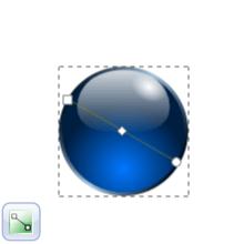 Добавление эффекта хромирования к обводке в Inkscape