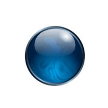 Финальное изображение шара маны в Inkscape