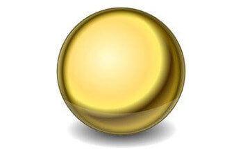Создание металлического шара в Inkscape