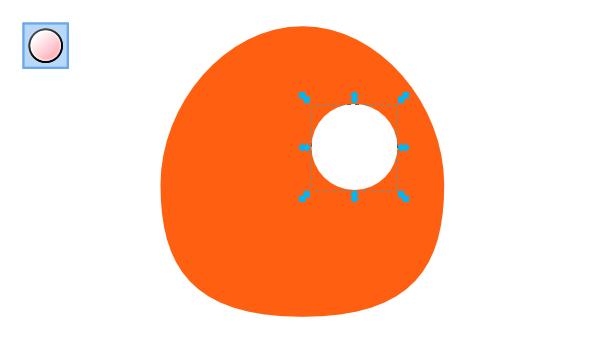Рисование глаза в Inkscape
