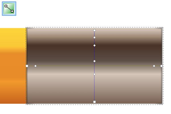 Назначение градиента обводке в Inkscape