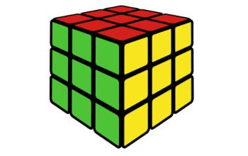 Рисование кубика Рубика в Inkscape