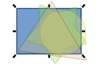 Переключение между объектами в Inkscape при помощи колеса мыши