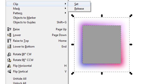 Создание четких граней в Inkscape
