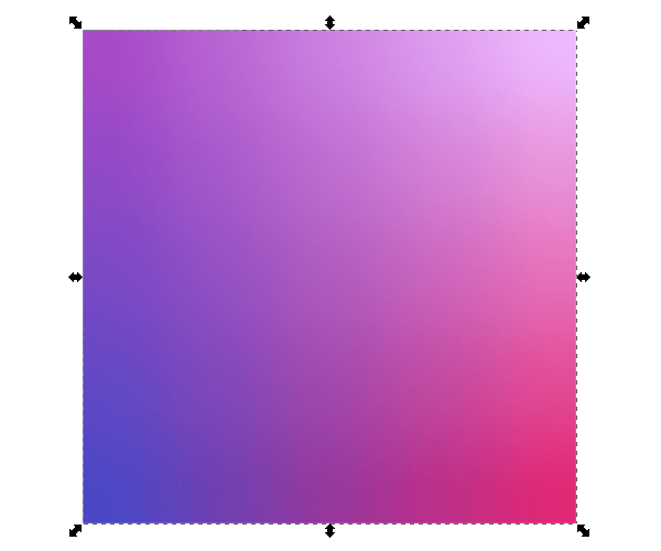 Результат имитации градиентной сетки в Inkscape