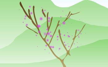 Урок по рисованию в Inscape пейзажа