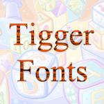 Тигровый шрифт в Inkscape
