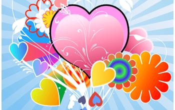 Как сделать валентинку в Inkscape (урок)