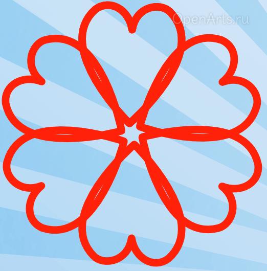 Создание узора из клонов в Inkscape