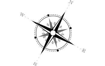 Урок по рисованию в Inkscape 0.46 компаса