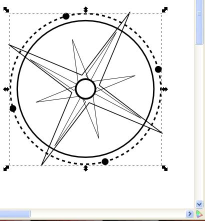 Создаем в Inkscape окружности