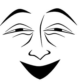 Рисуем рот в Inkscape