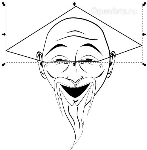 Рисуем вьетнамскую шапку в Inkscape