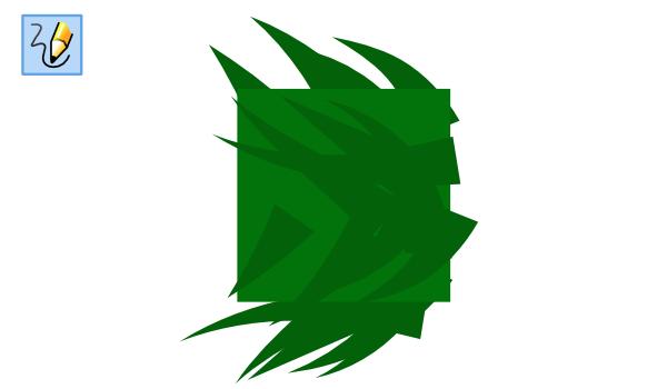 Рисование веток в Inkscape