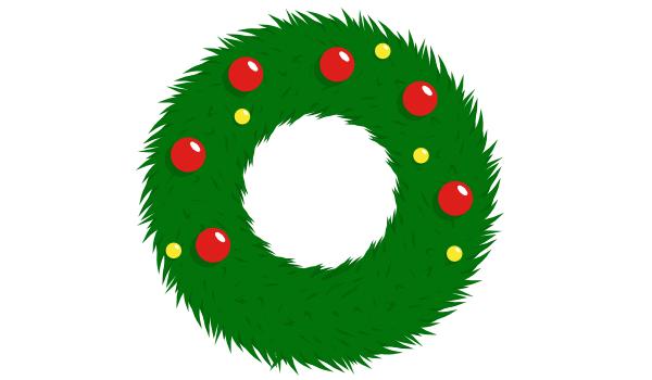 Украшение рождественского венка в Inkscape