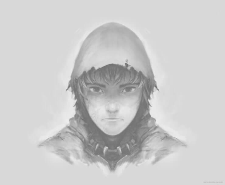 Зеркальный персонаж в Krita (4)