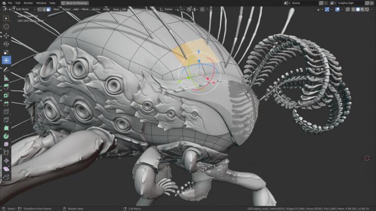 Моделирование в Blender 2.80