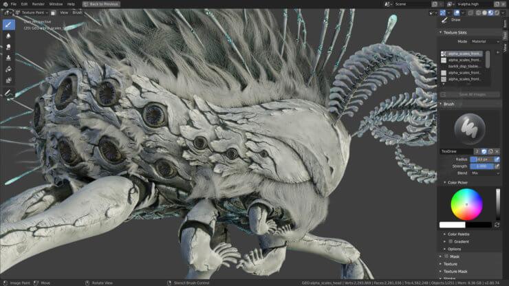 Режим look dev в Blender 2.80