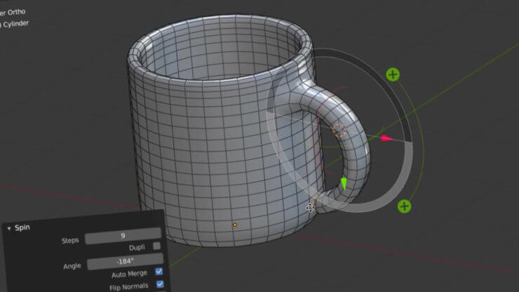 Интуитивные виджеты в Blender 2.80