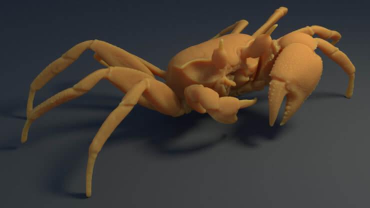 Подповерхностное рассеивание Random Walk в Blender 2.80