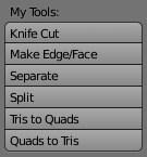 Результат добавления новых инструментов в Blender