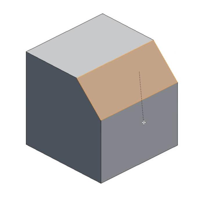Создание фаски в Blender