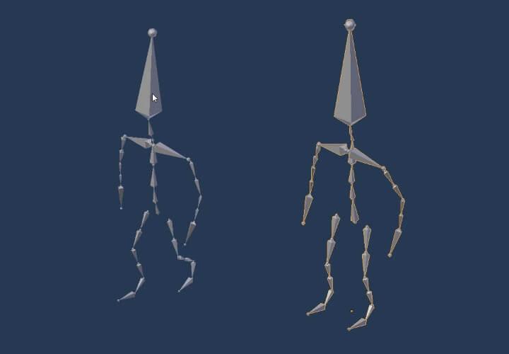 Копирование анимации с одного объекта на другой в Blender (2)