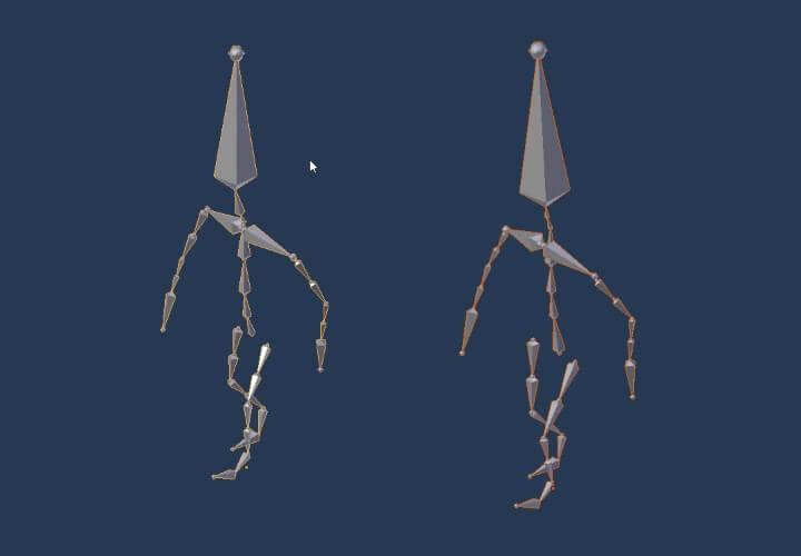 Копирование анимации с одного объекта на другой в Blender (4)